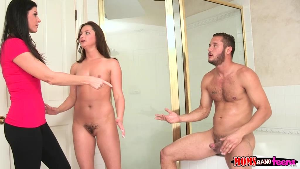 Playing with girls clit
